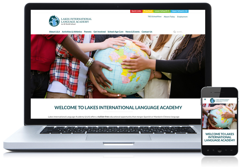 Lakes International Website